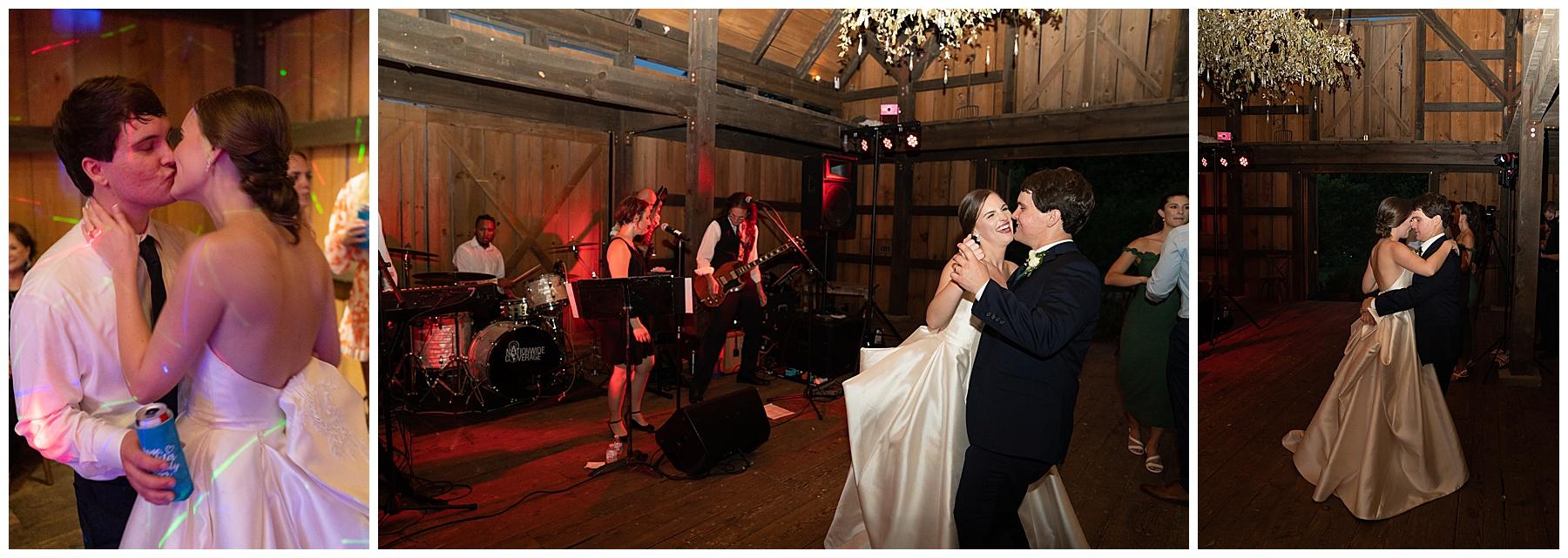 j&d farms wedding dancing