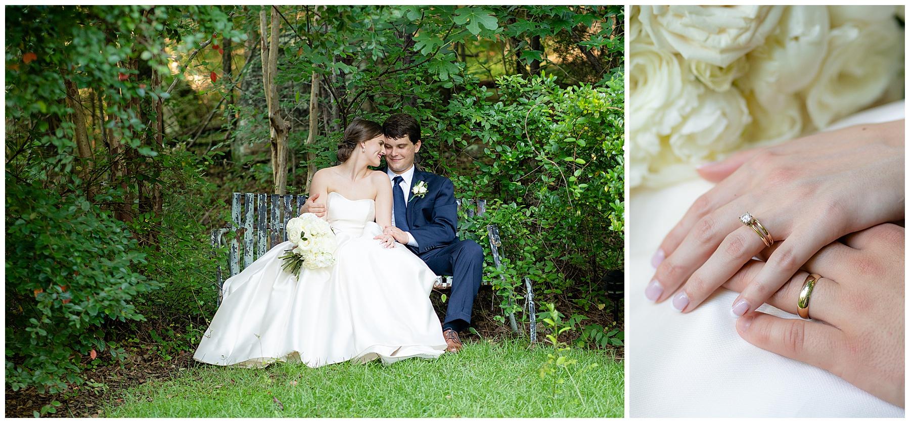 garden wedding j&d farms wedding