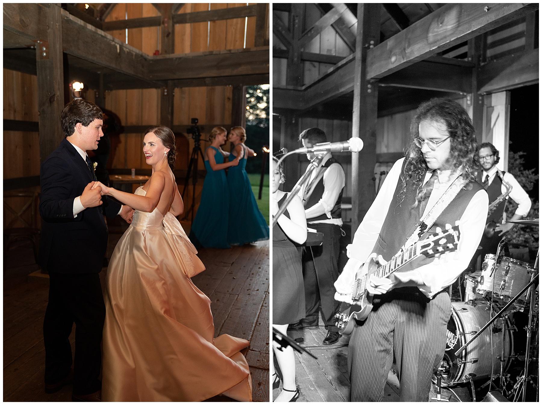 j&d farms wedding live band
