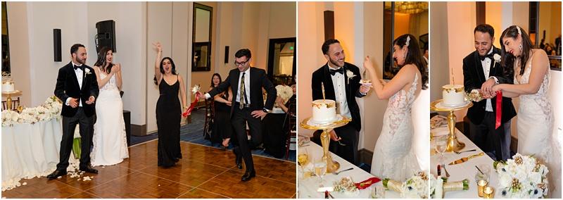 cake cutting dance persian tradition