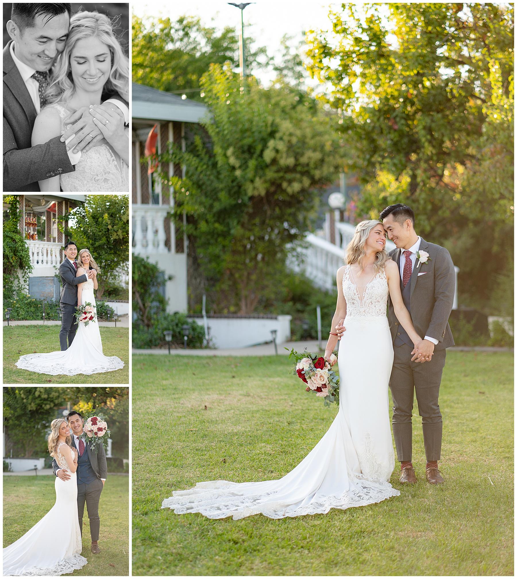 private home wedding in corona