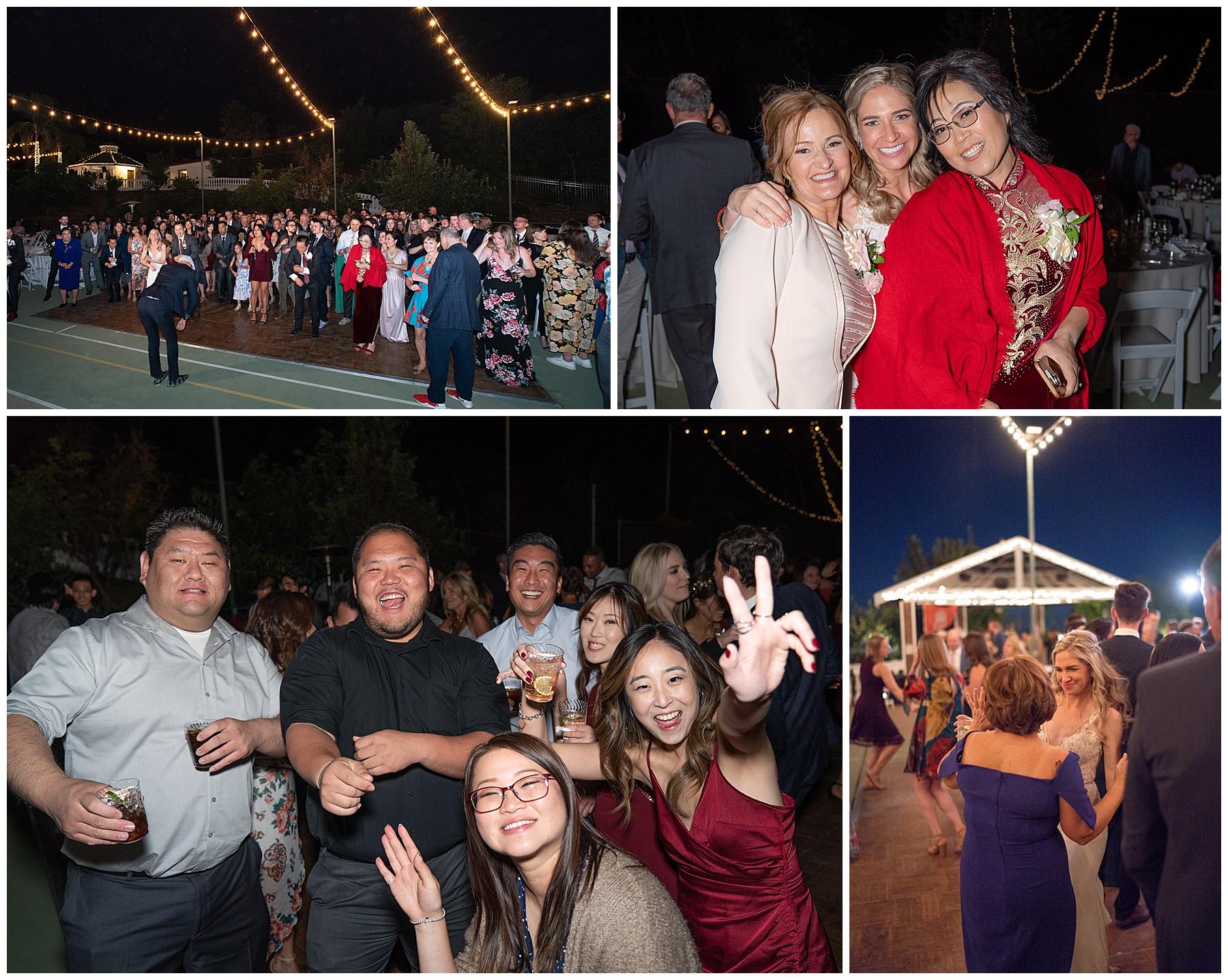 corona backyard wedding