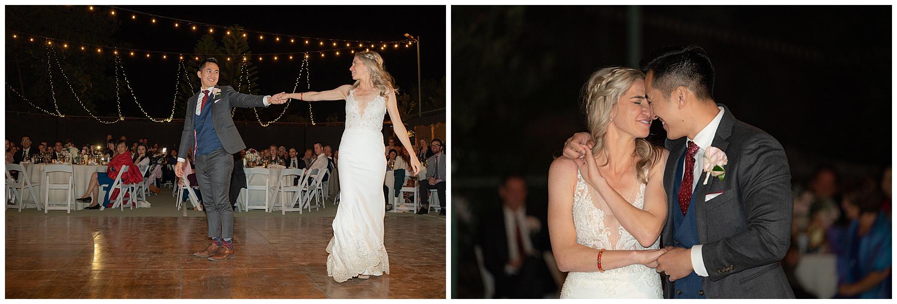 first dance corona wedding