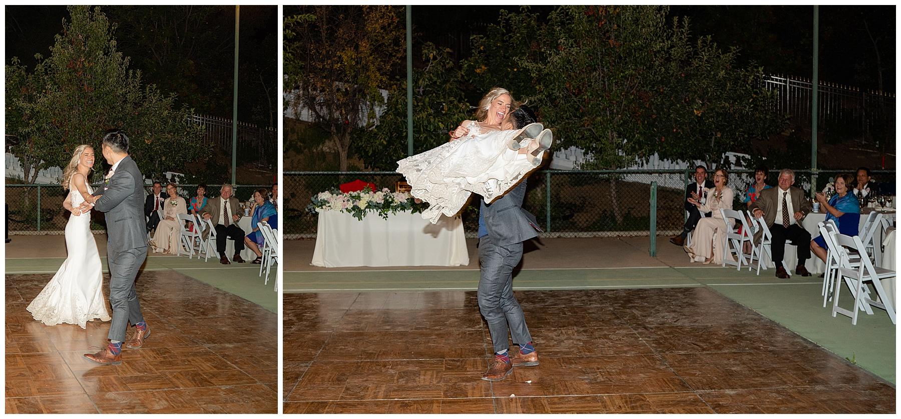 corona wedding first dance