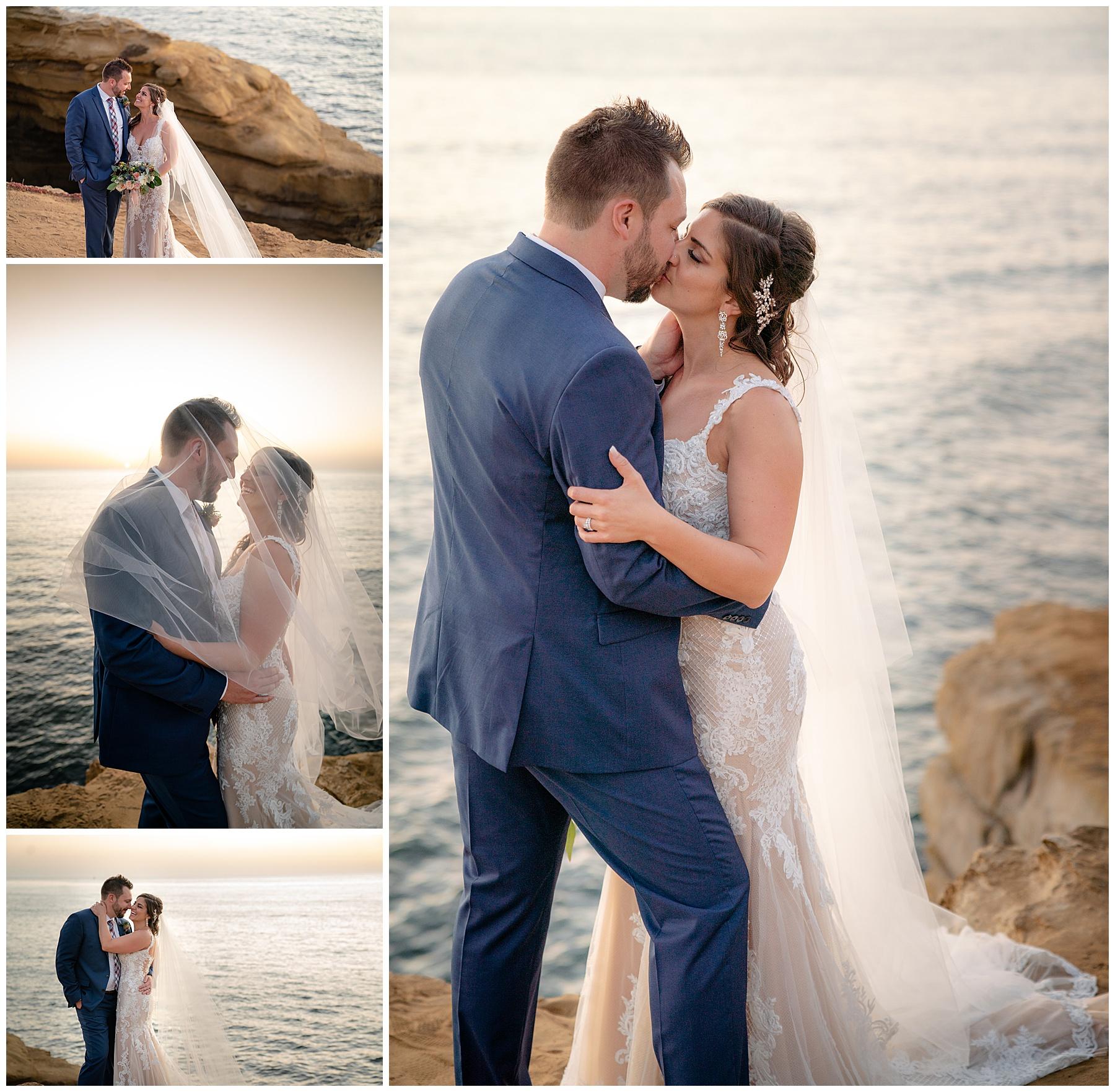 sunset cliffs san diego wedding