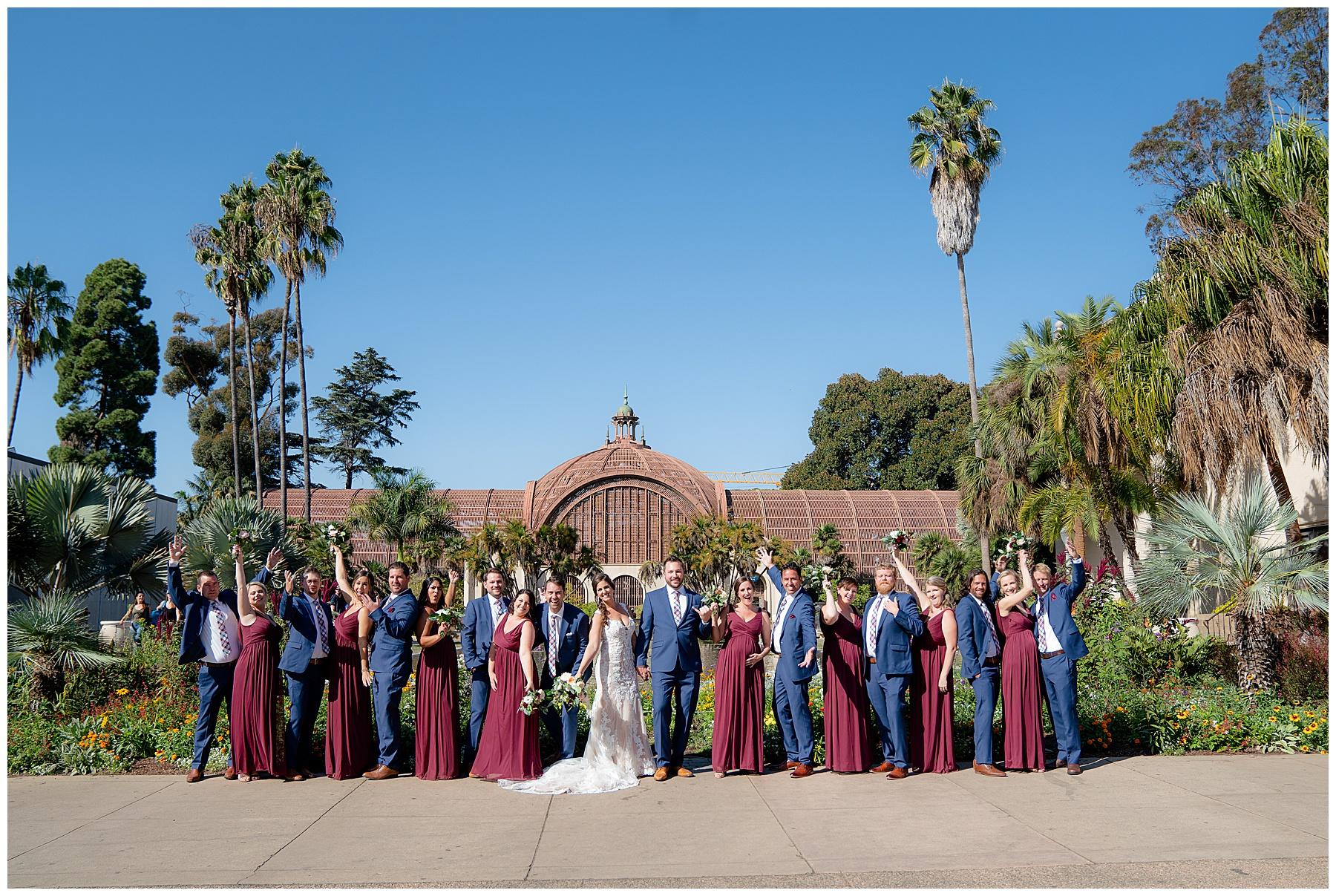 wedding photos at balboa park