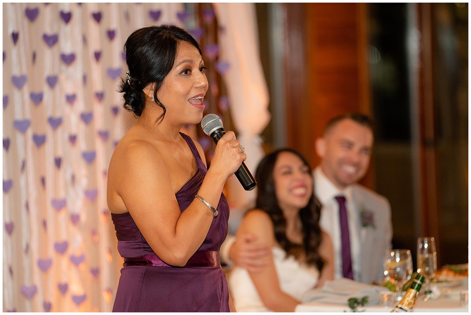 moms toast calamigos equestrian center wedding