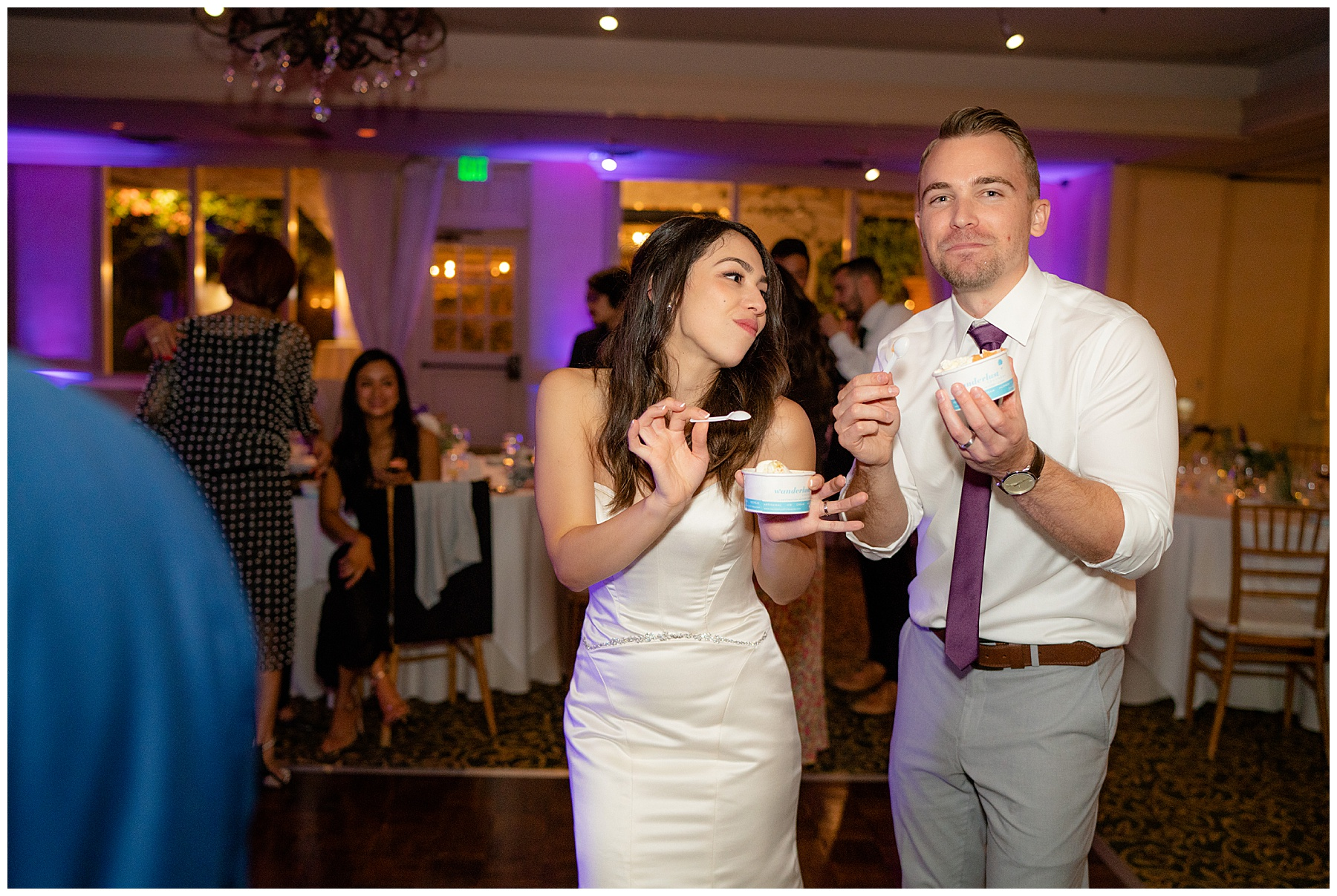 ice cream cart wedding catering calamigos equestrian center wedding