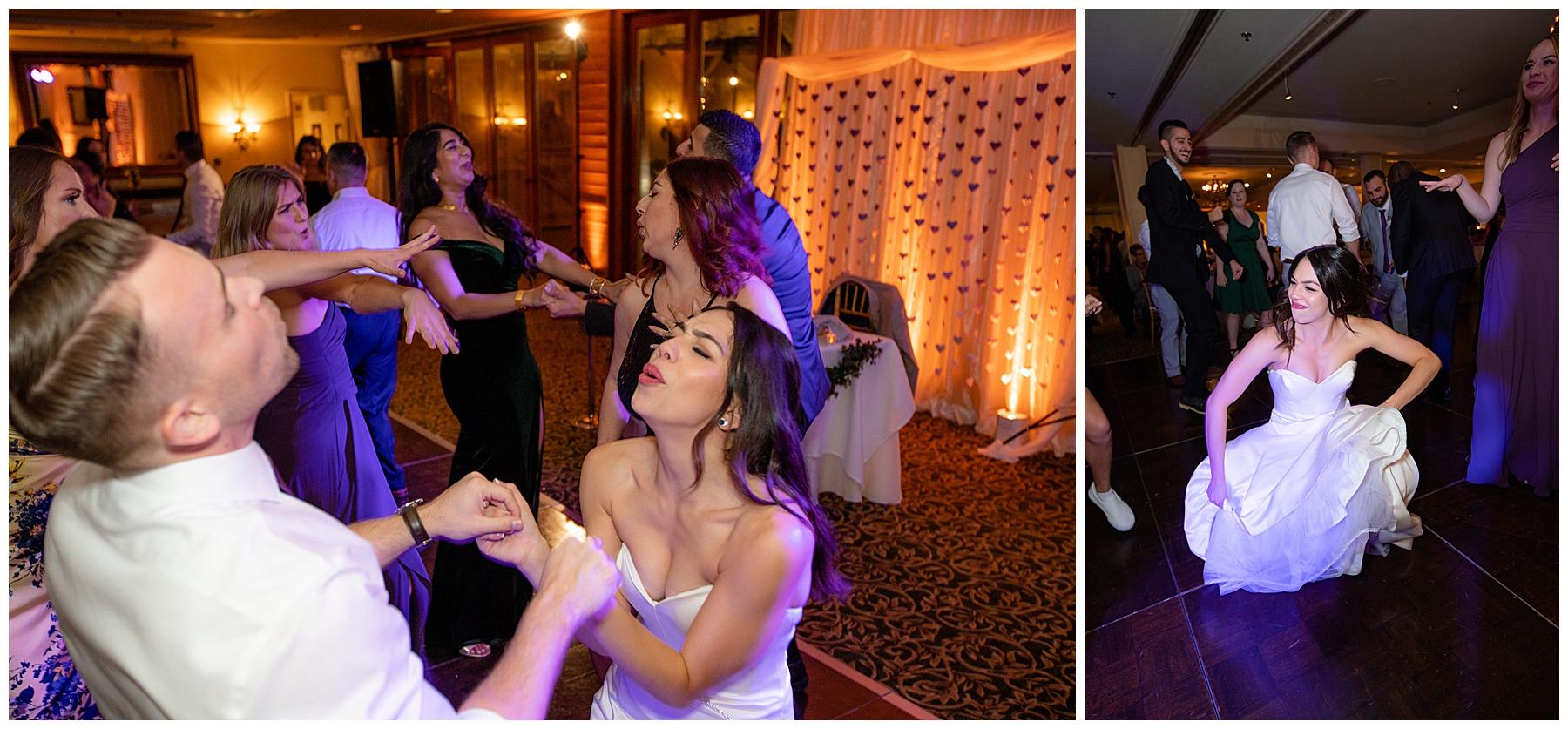 dancing calamigos equestrian center wedding
