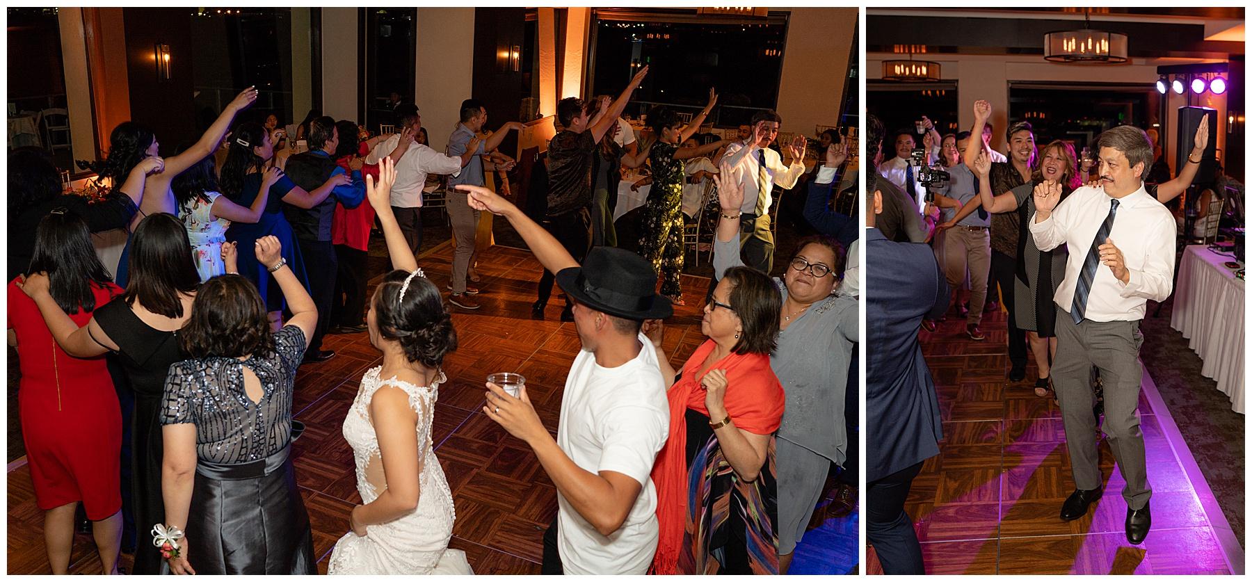 tom ham's lighthouse wedding dancing