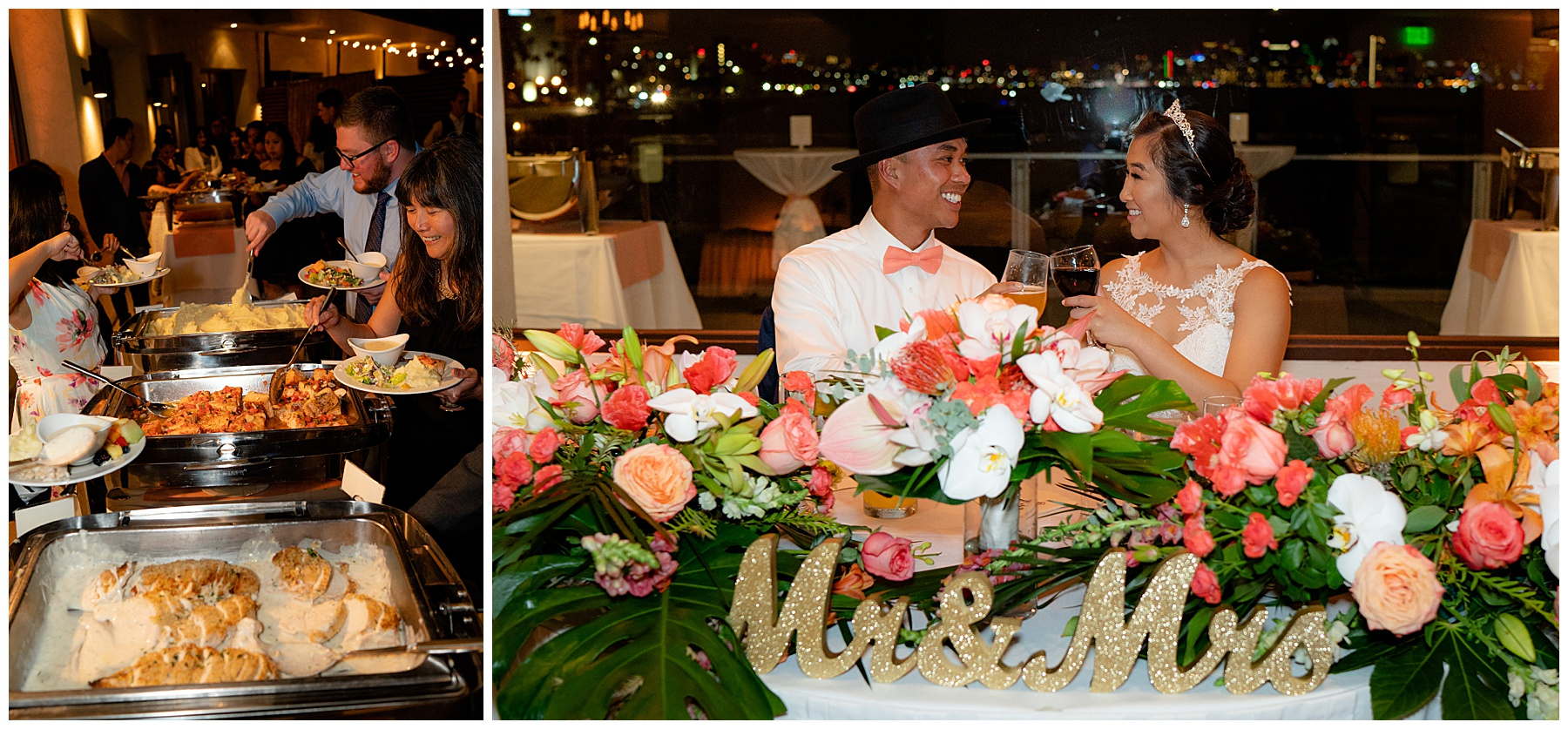 tom ham's lighthouse wedding toasts