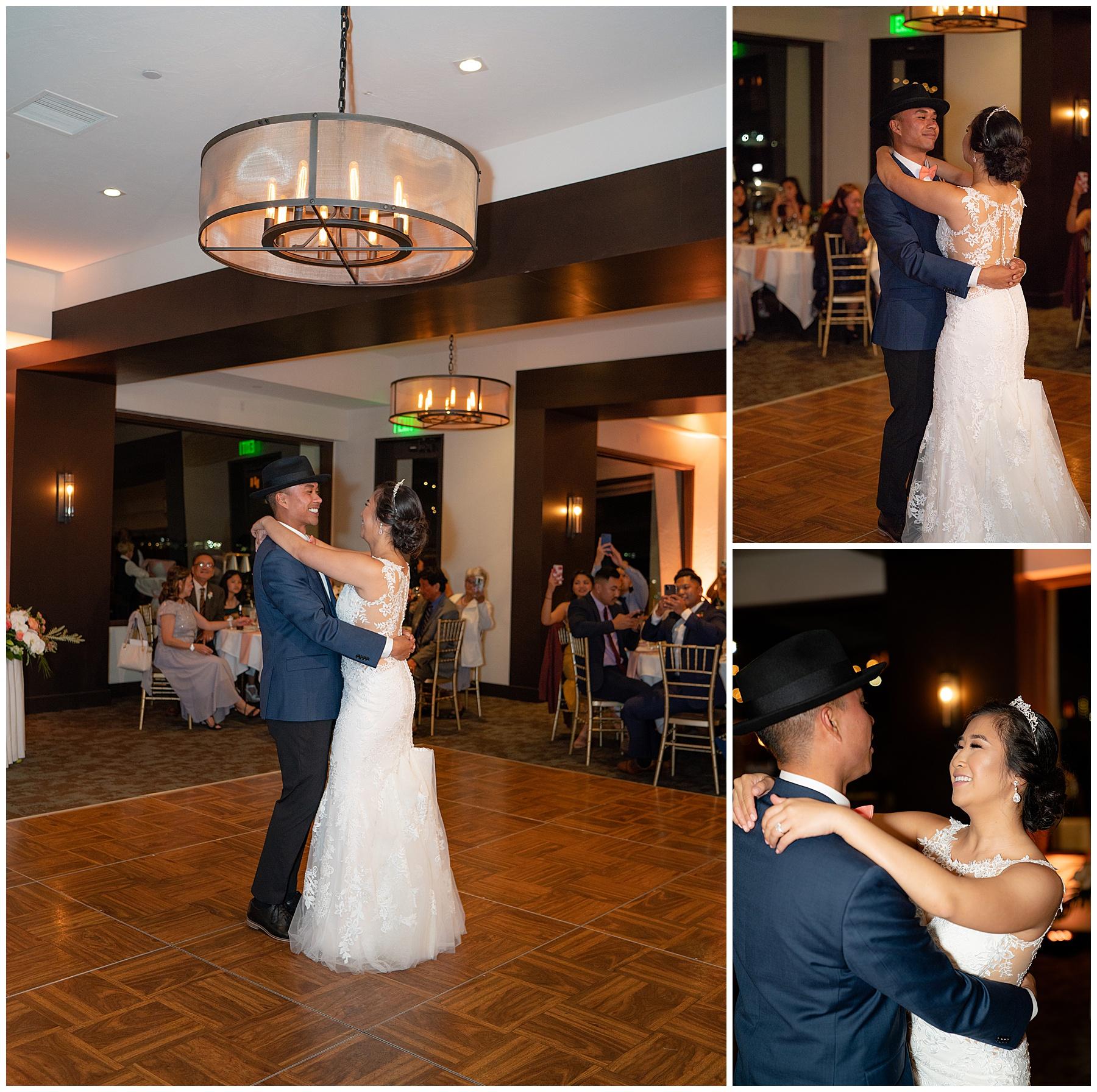 first dance tom ham's lighthouse wedding