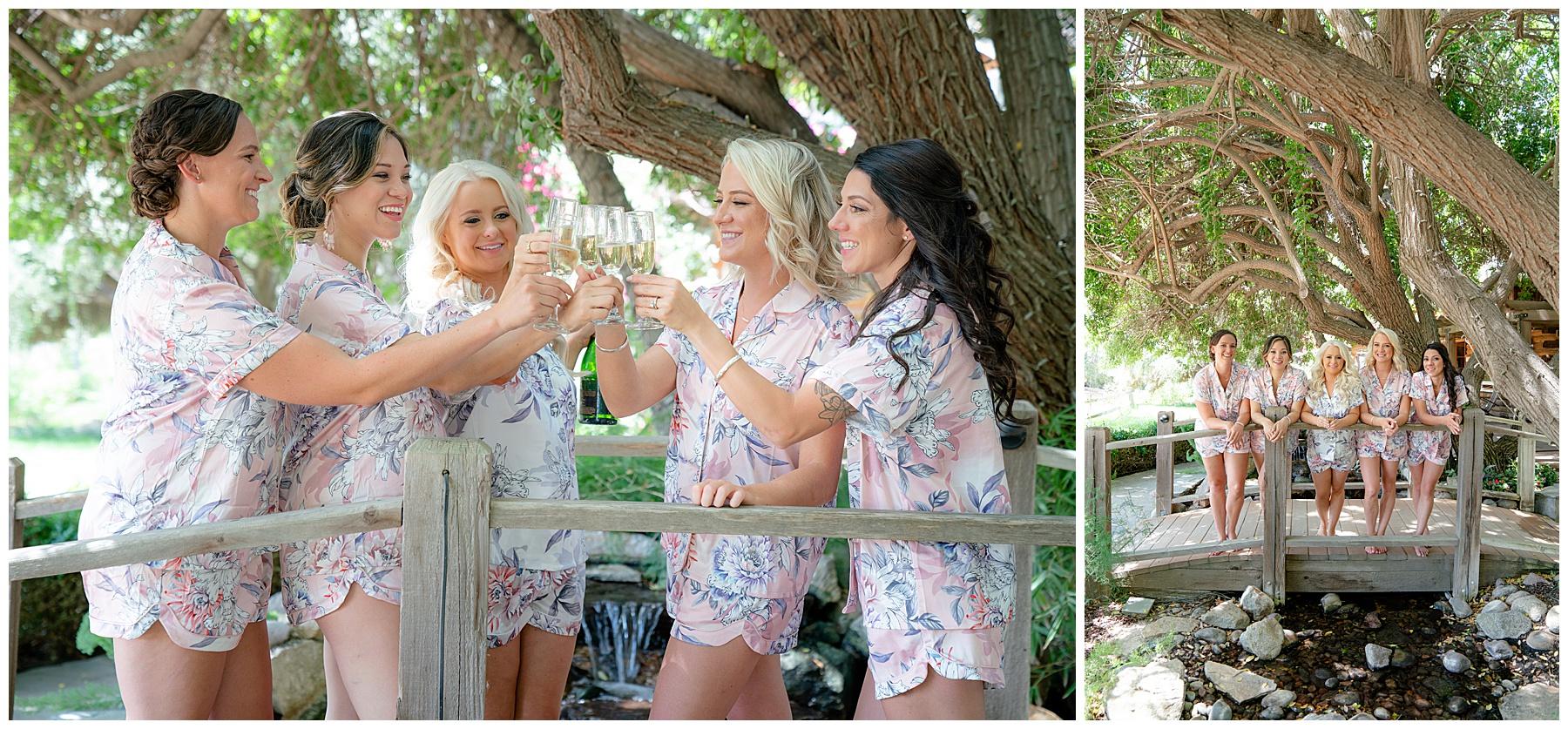 lake oak meadows weddings bridal toast