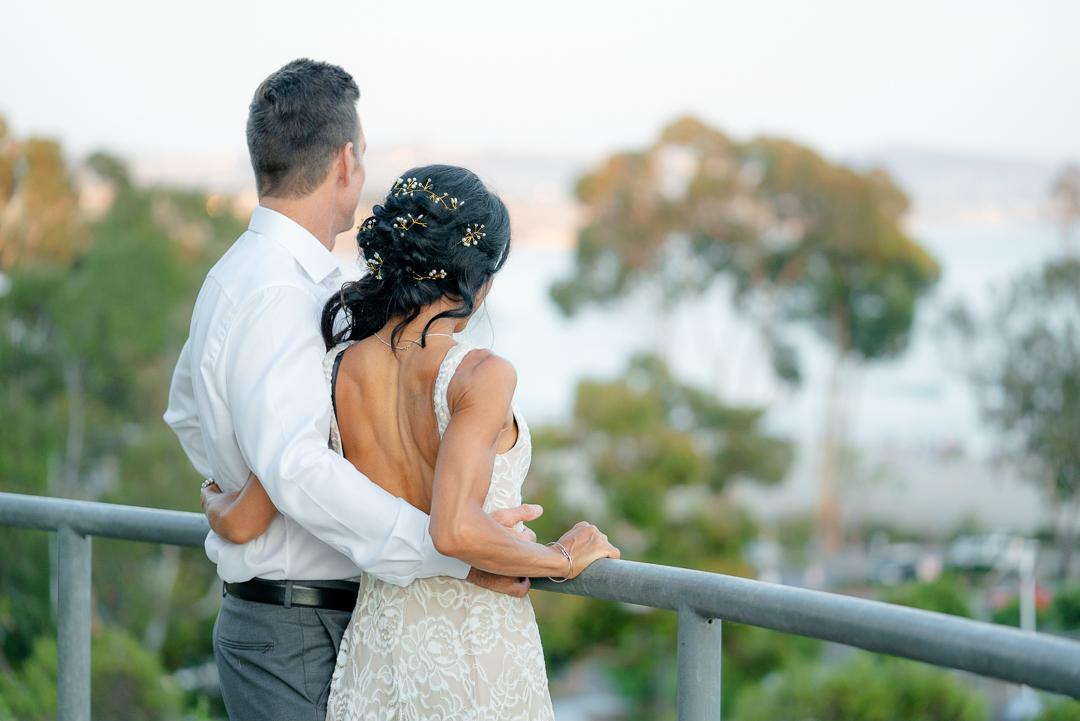 dana point sunset wedding