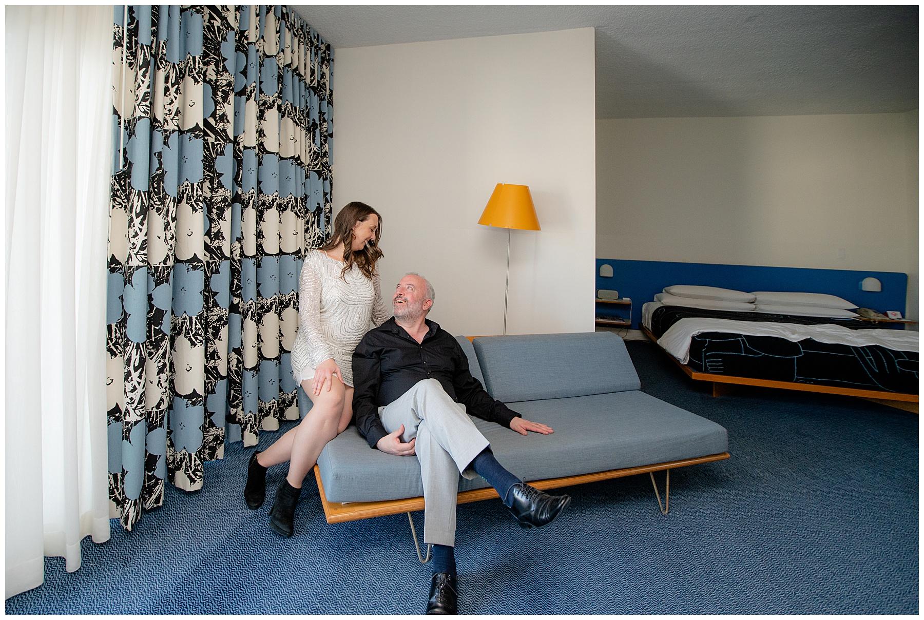 the standard hotel room los angeles