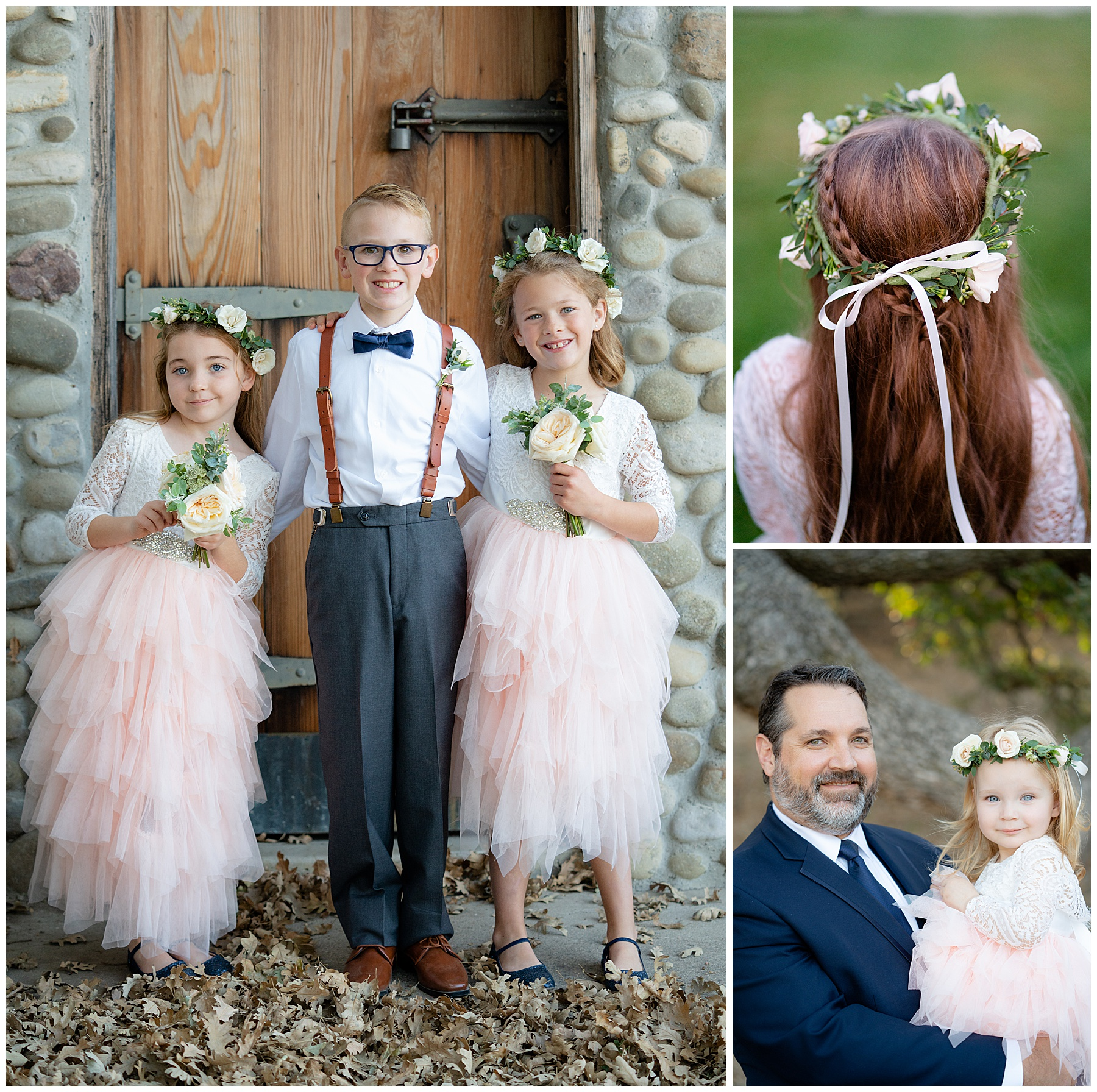 flower girl and ring bearer outfits