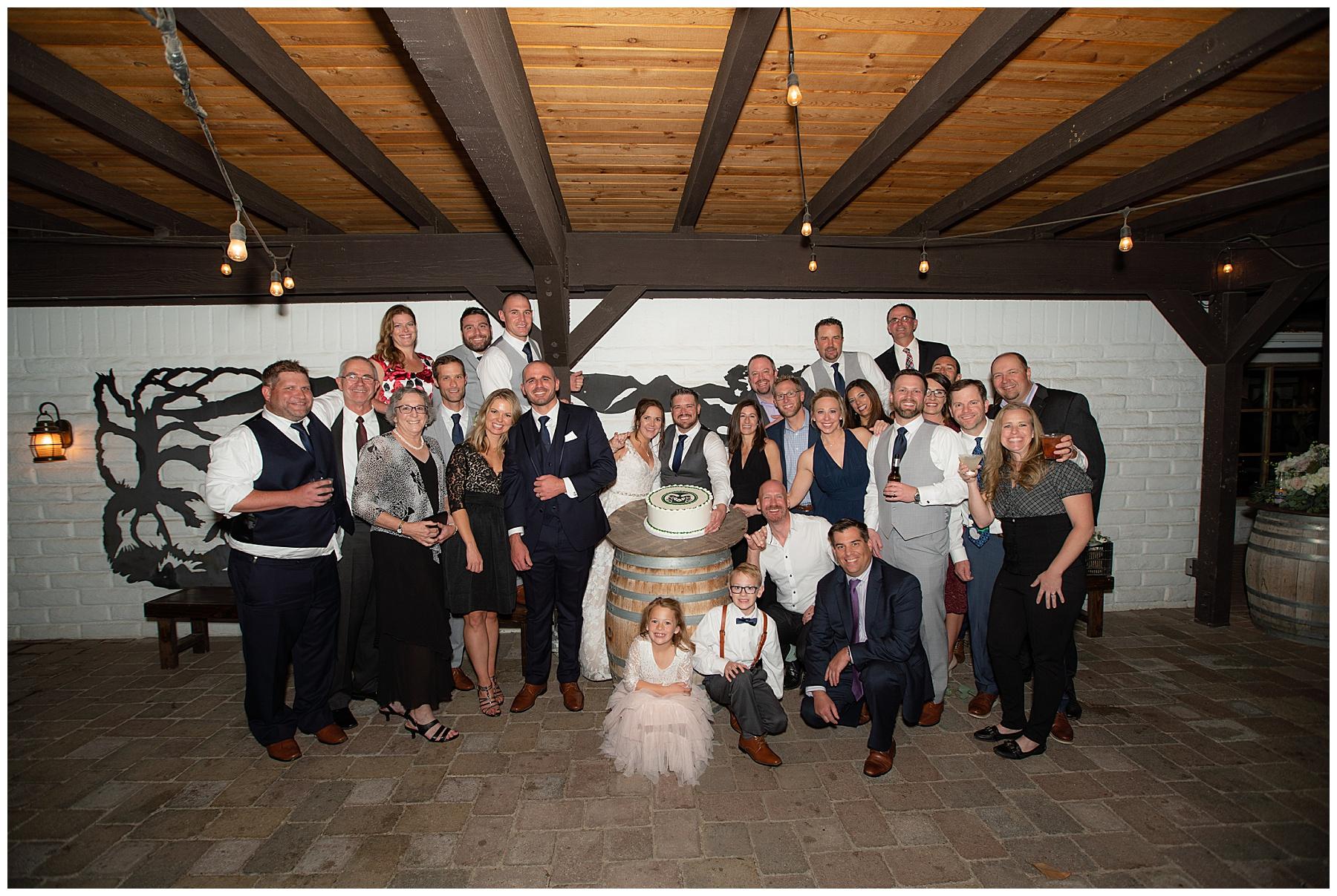 colorado state university wedding
