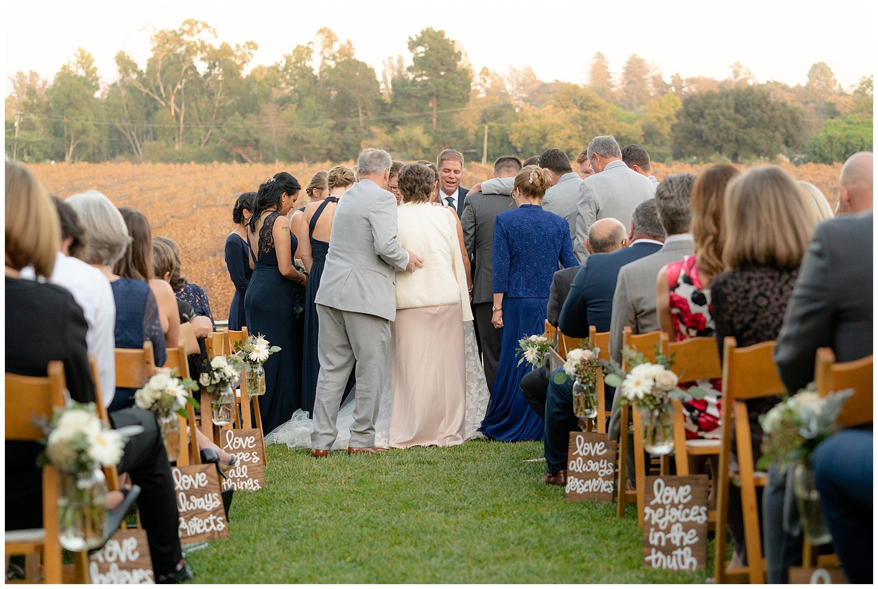 lincourt vineyards wedding