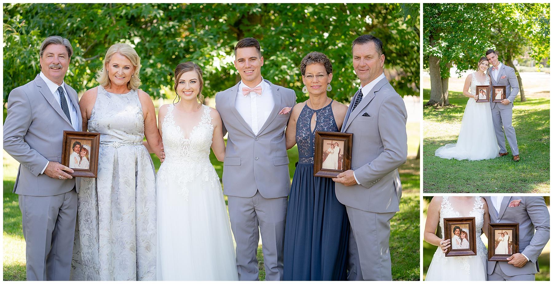 wedding photo parents