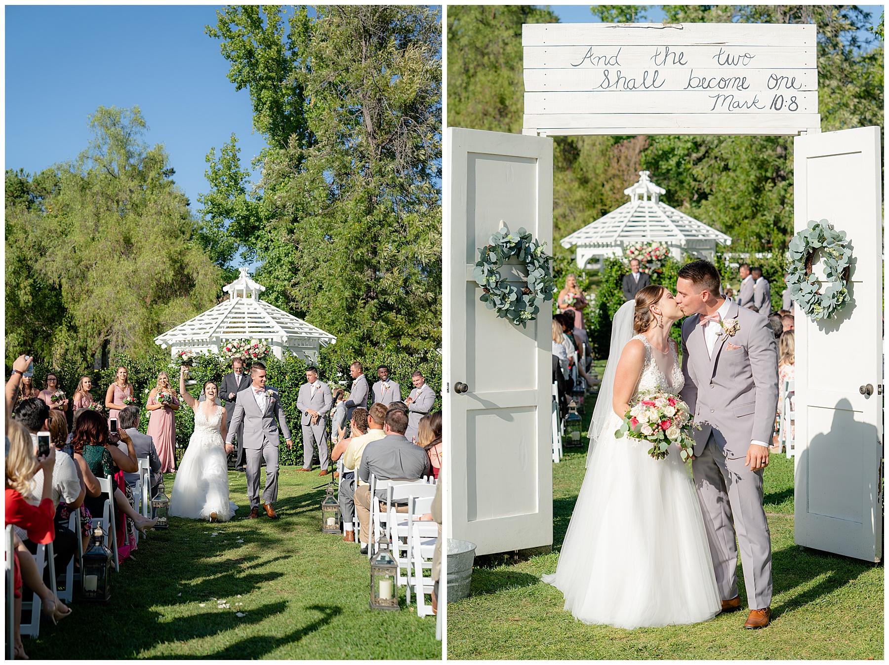 coto de caza golf club wedding ceremony