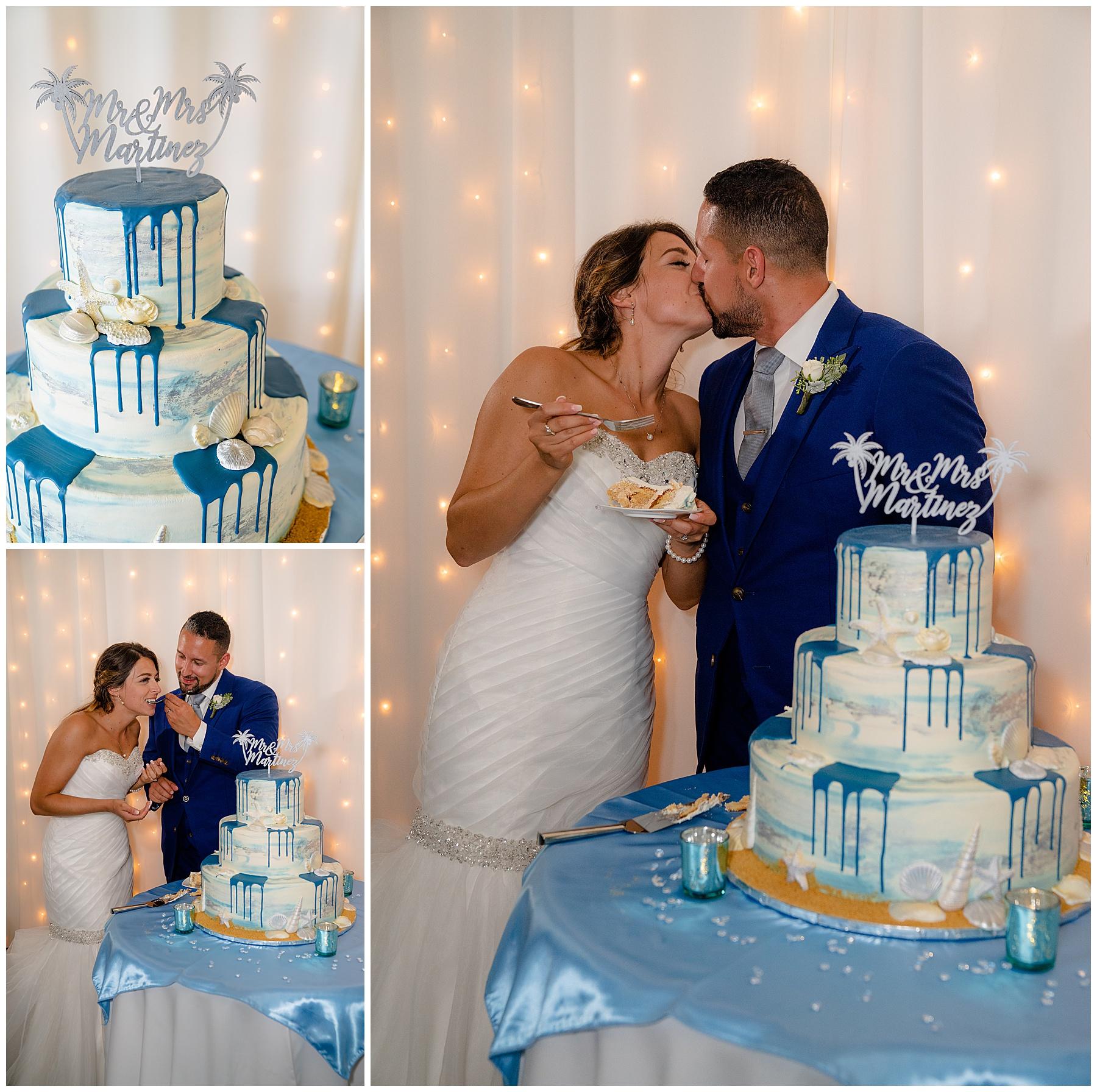 beach wedding cake ideas