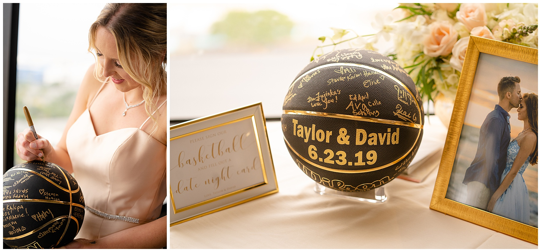 wedding guest sign in idea