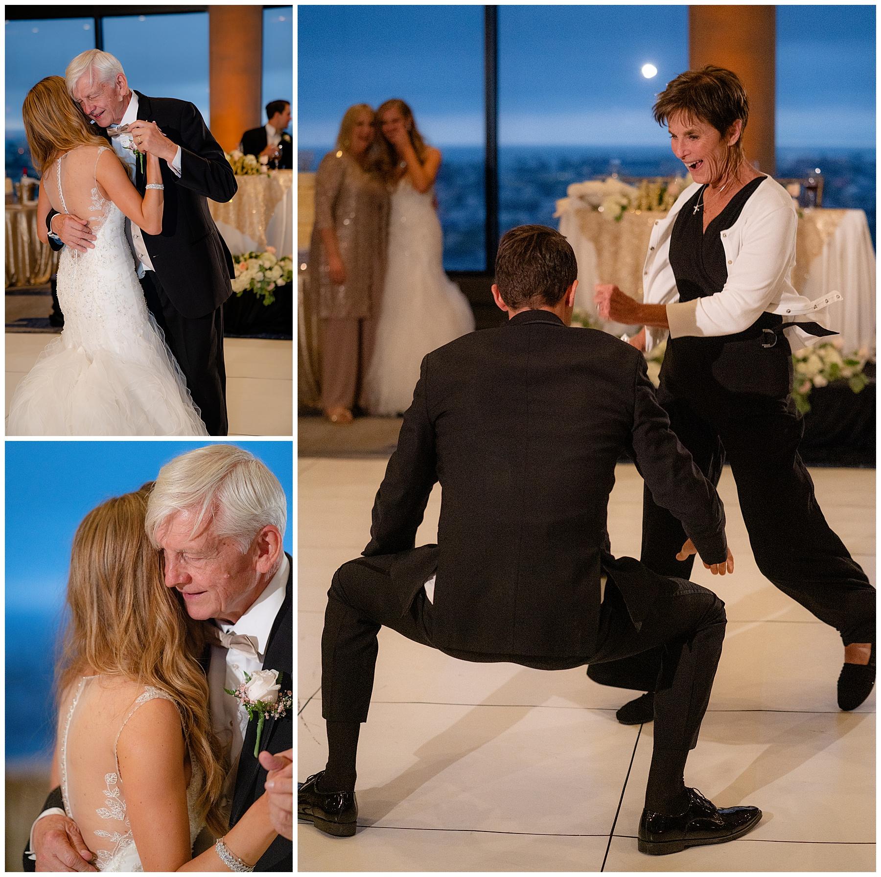 marriott marina del rey wedding parents dances
