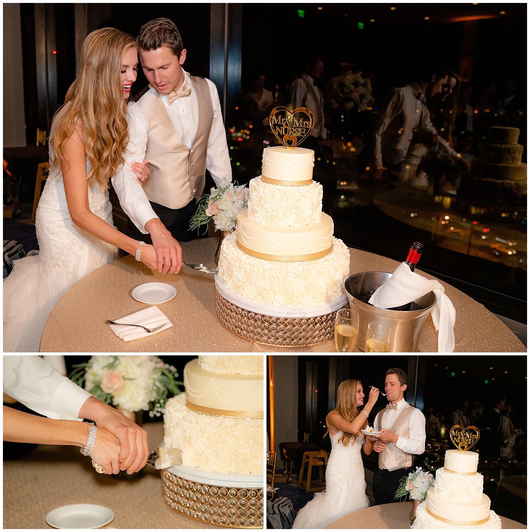 marriott marina del rey wedding cake