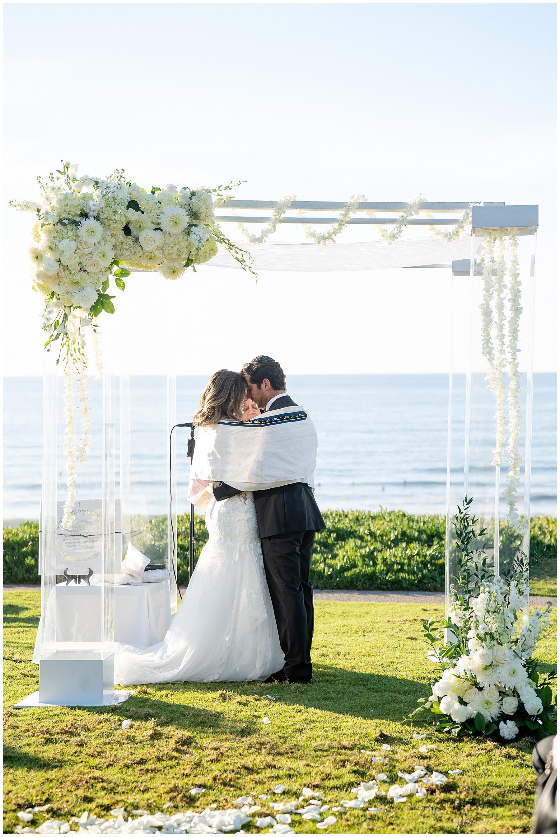 seagrove park del mar wedding jewish traditons