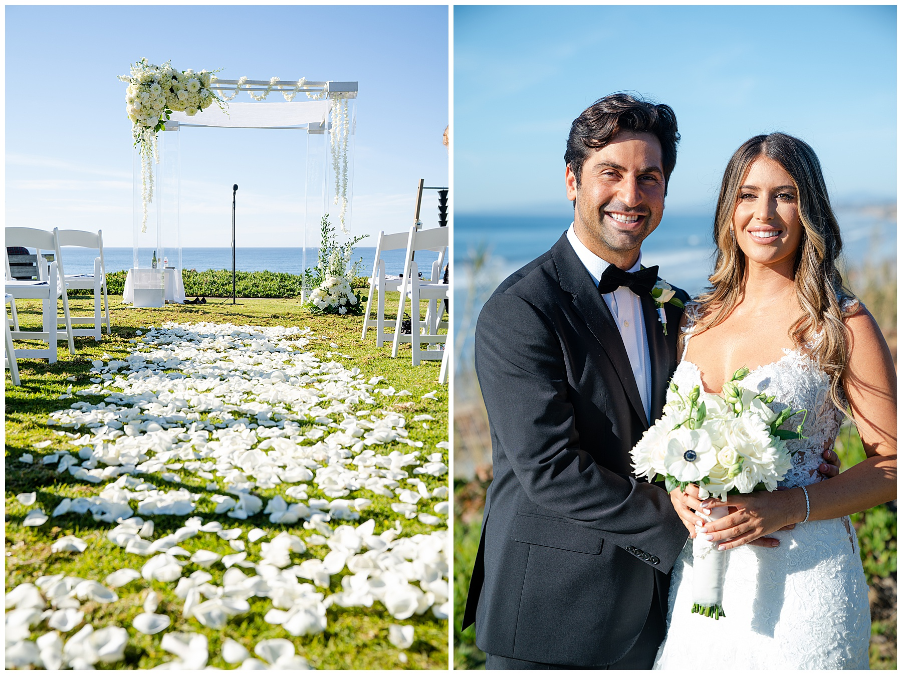 seagrove park del mar wedding