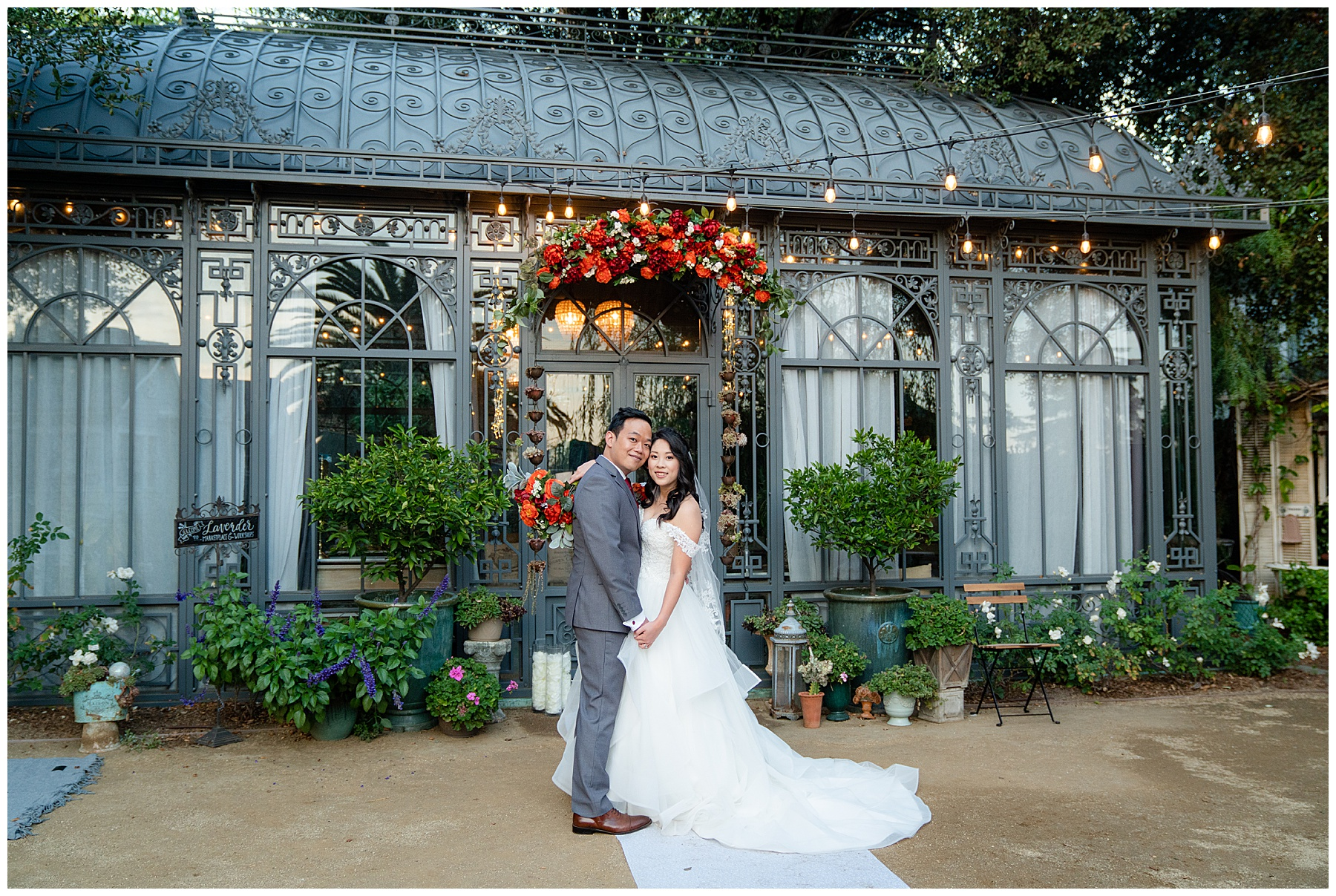 lavender marketplace wedding