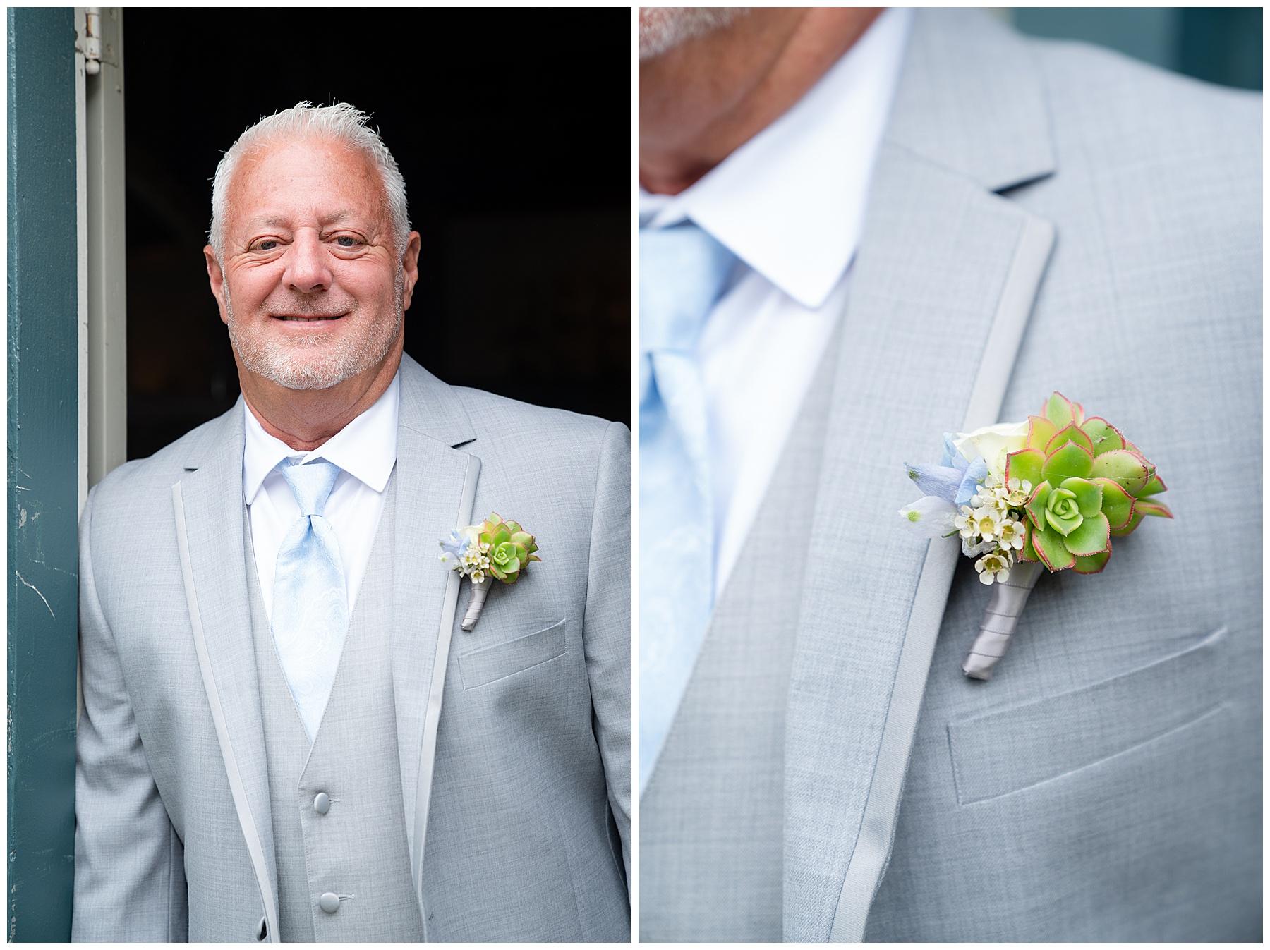 cactus wedding flowers