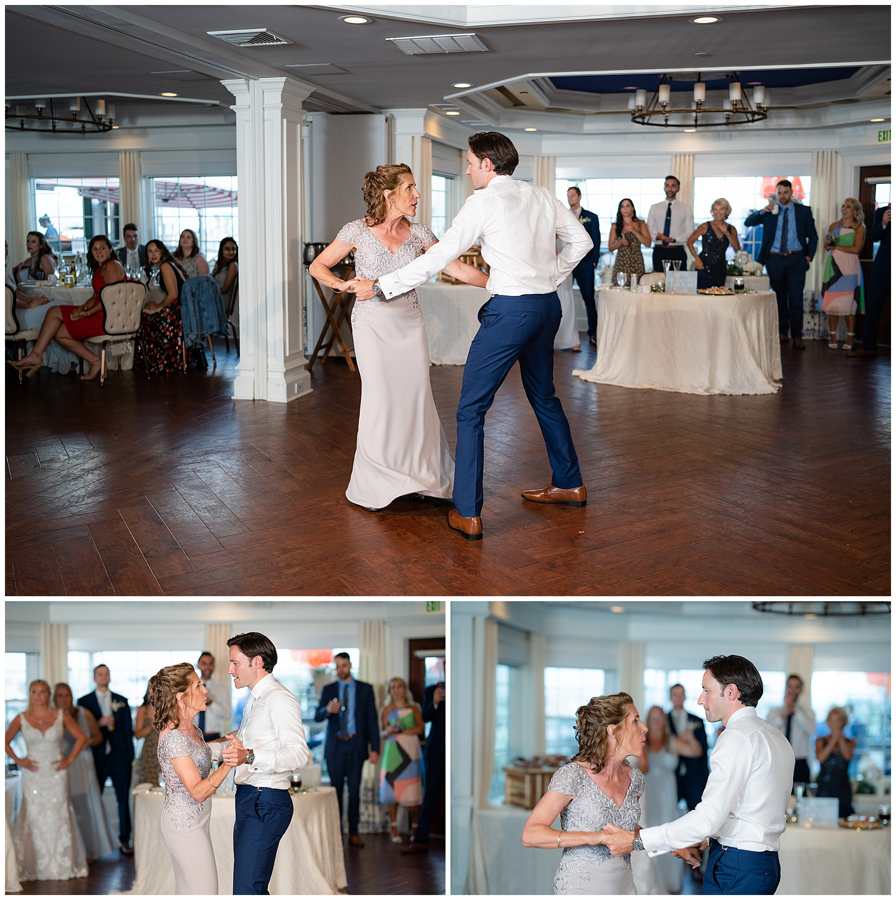 fun mother son dance