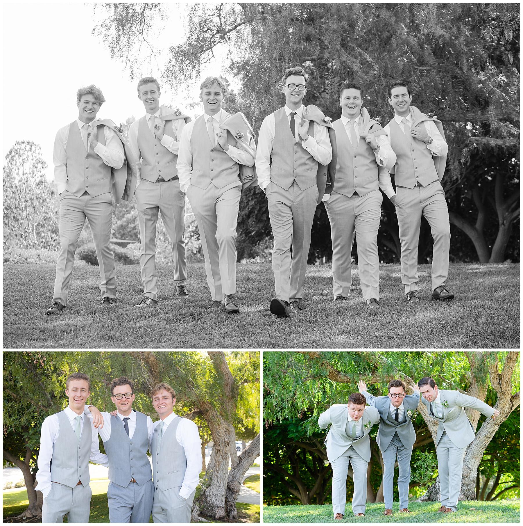 groomsmen group