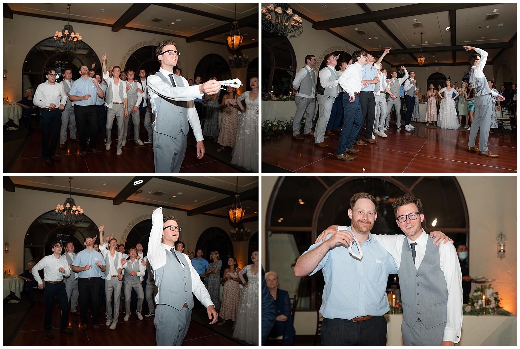 funny garter toss