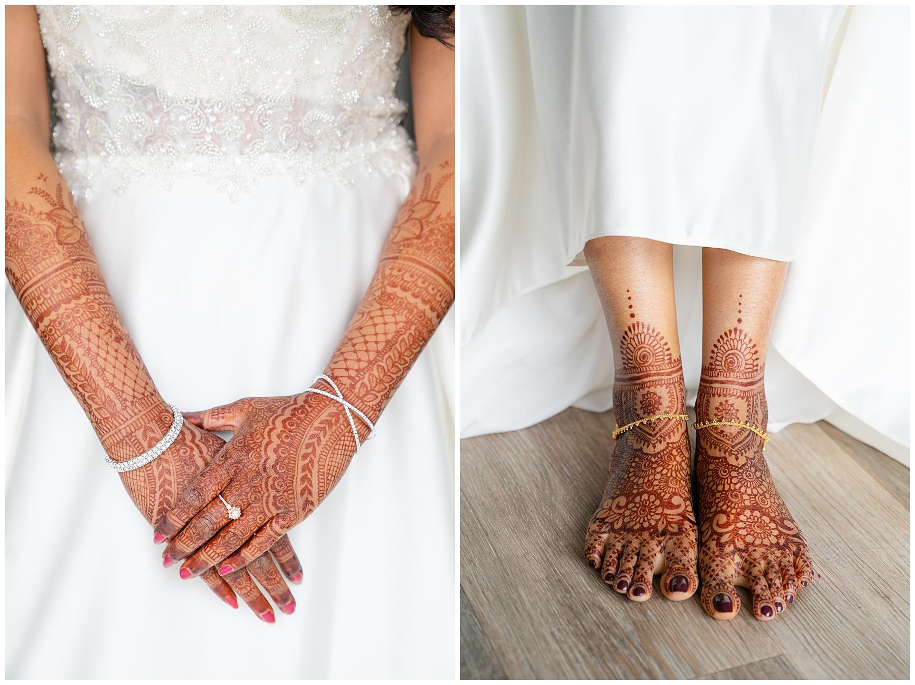 wedding henna tattoo