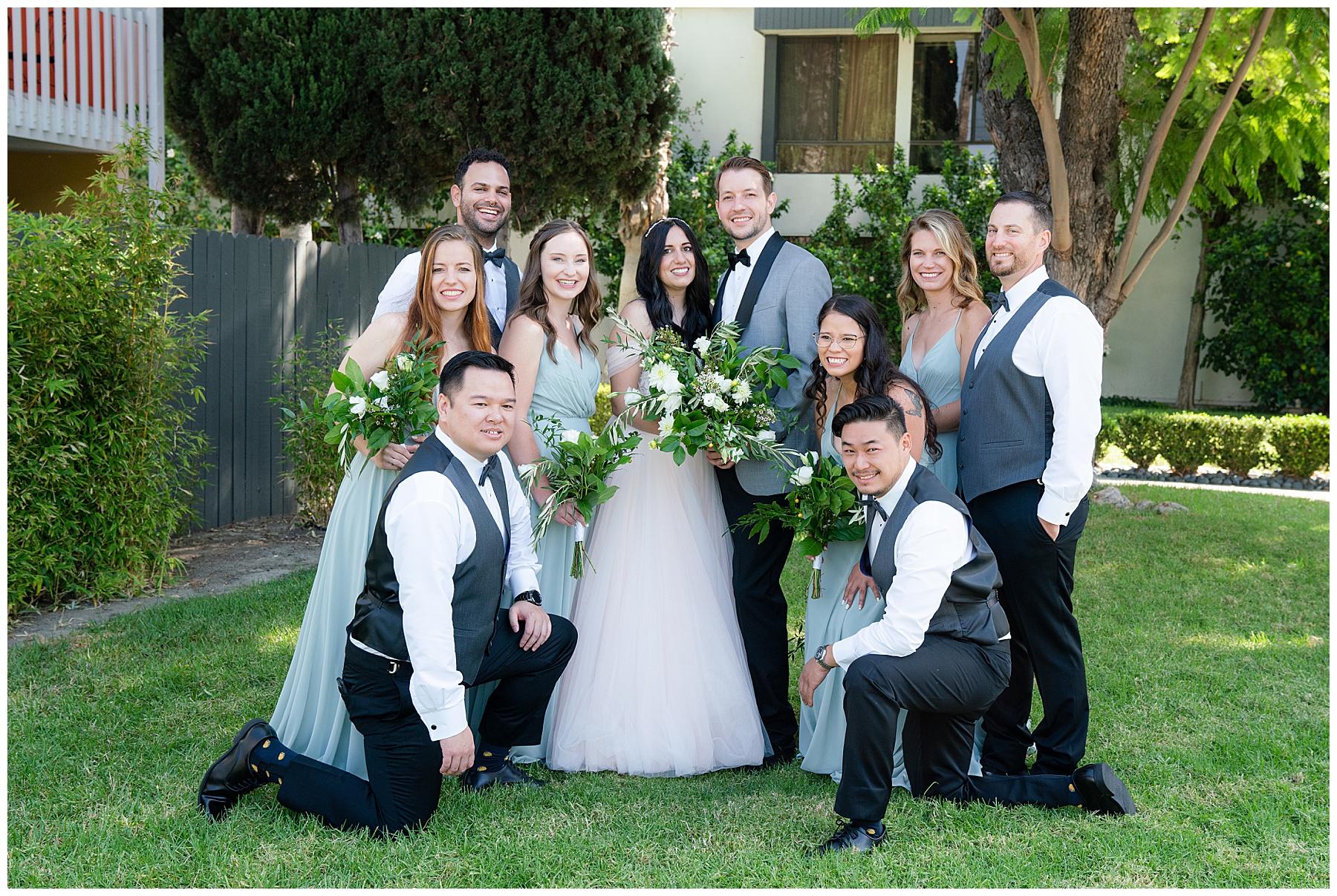 anaheim hotel wedding party