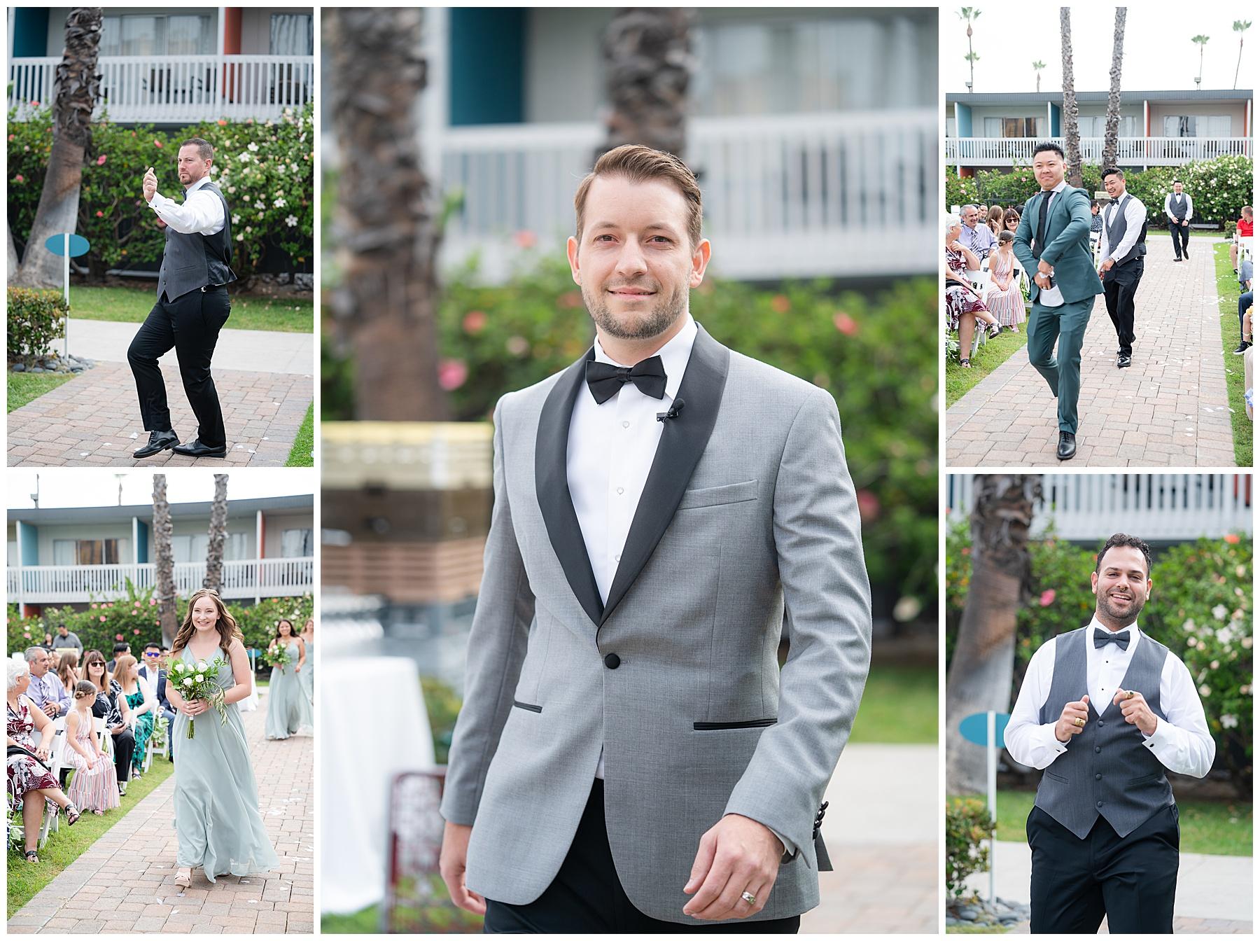 silly wedding processional