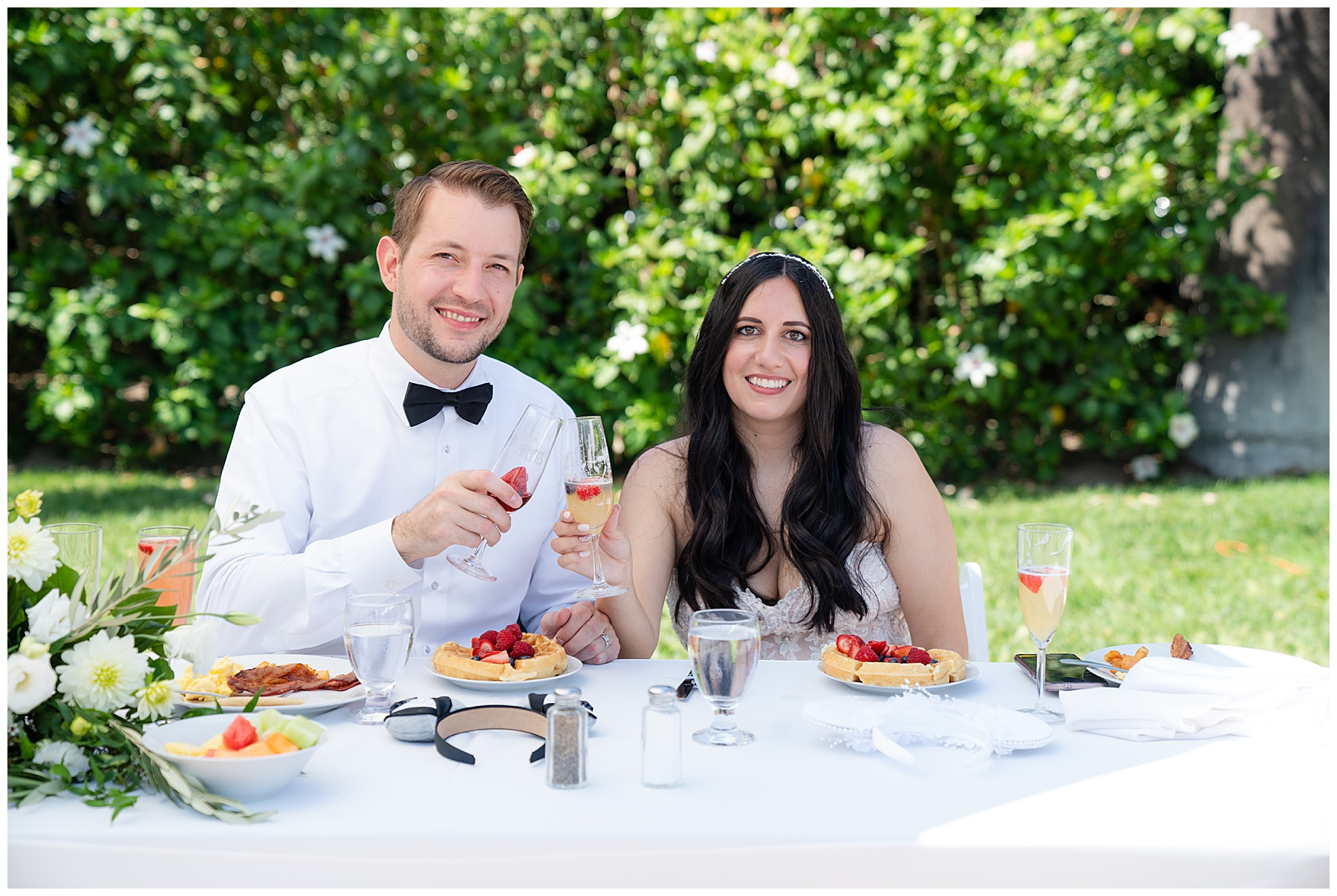 wedding day brunch