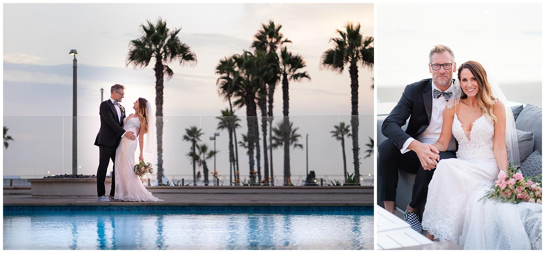 the waterfront beach resort a hilton hotel wedding