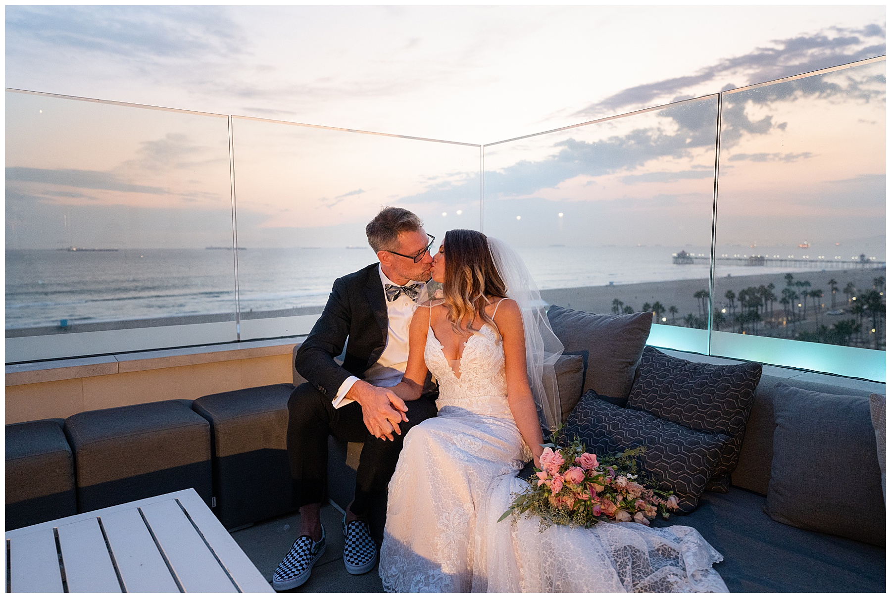 rooftop bar wedding