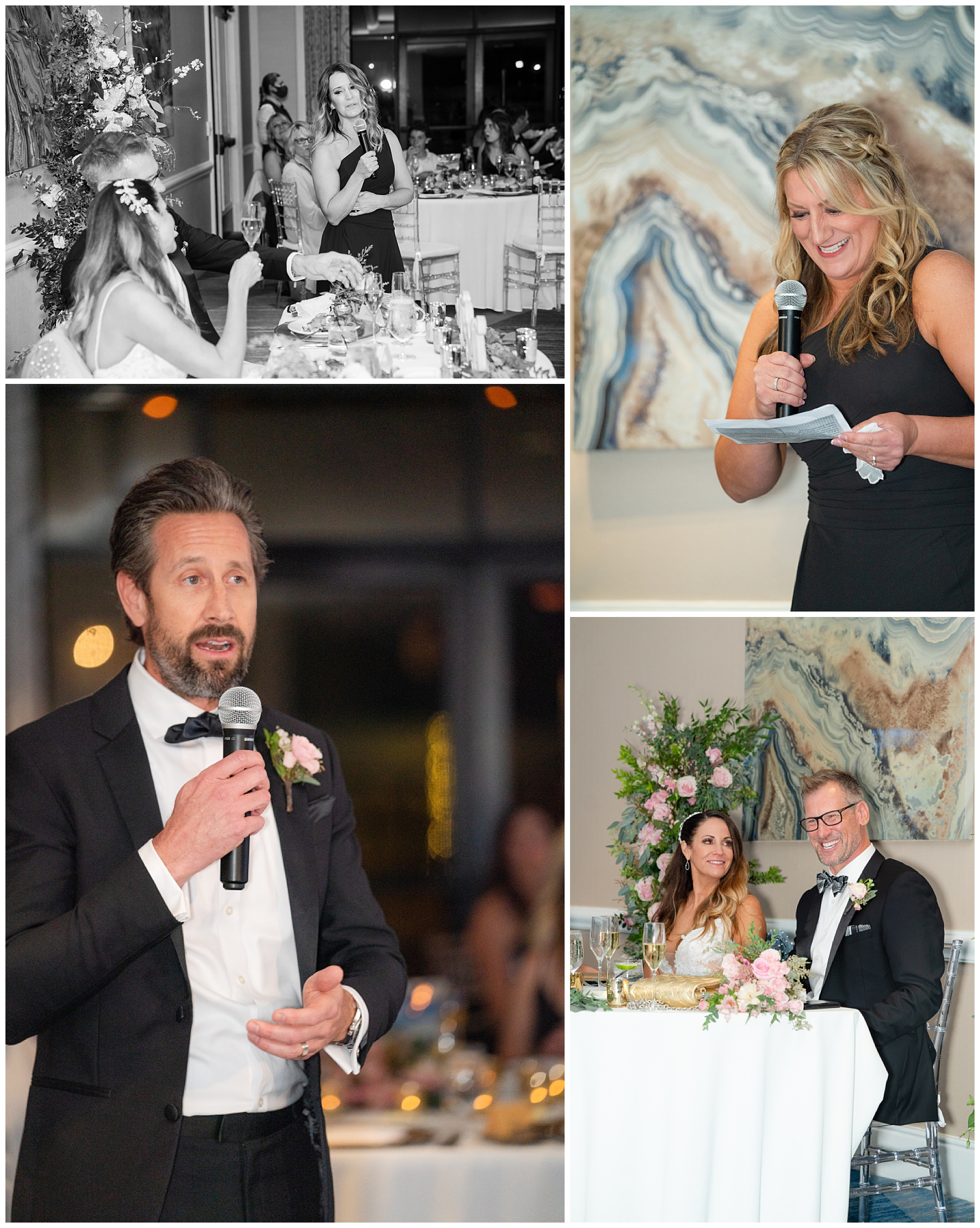 hilton wedding toasts