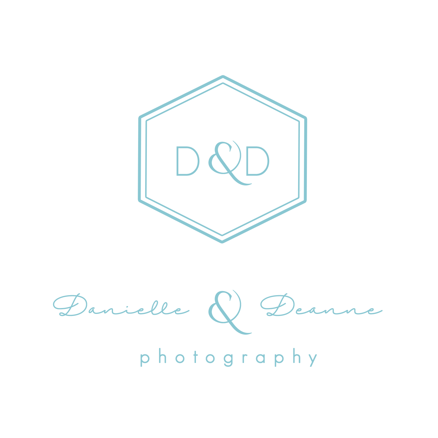 danielle and deanne photography logo