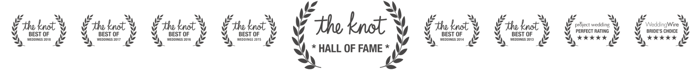 the knot hall of fame logo