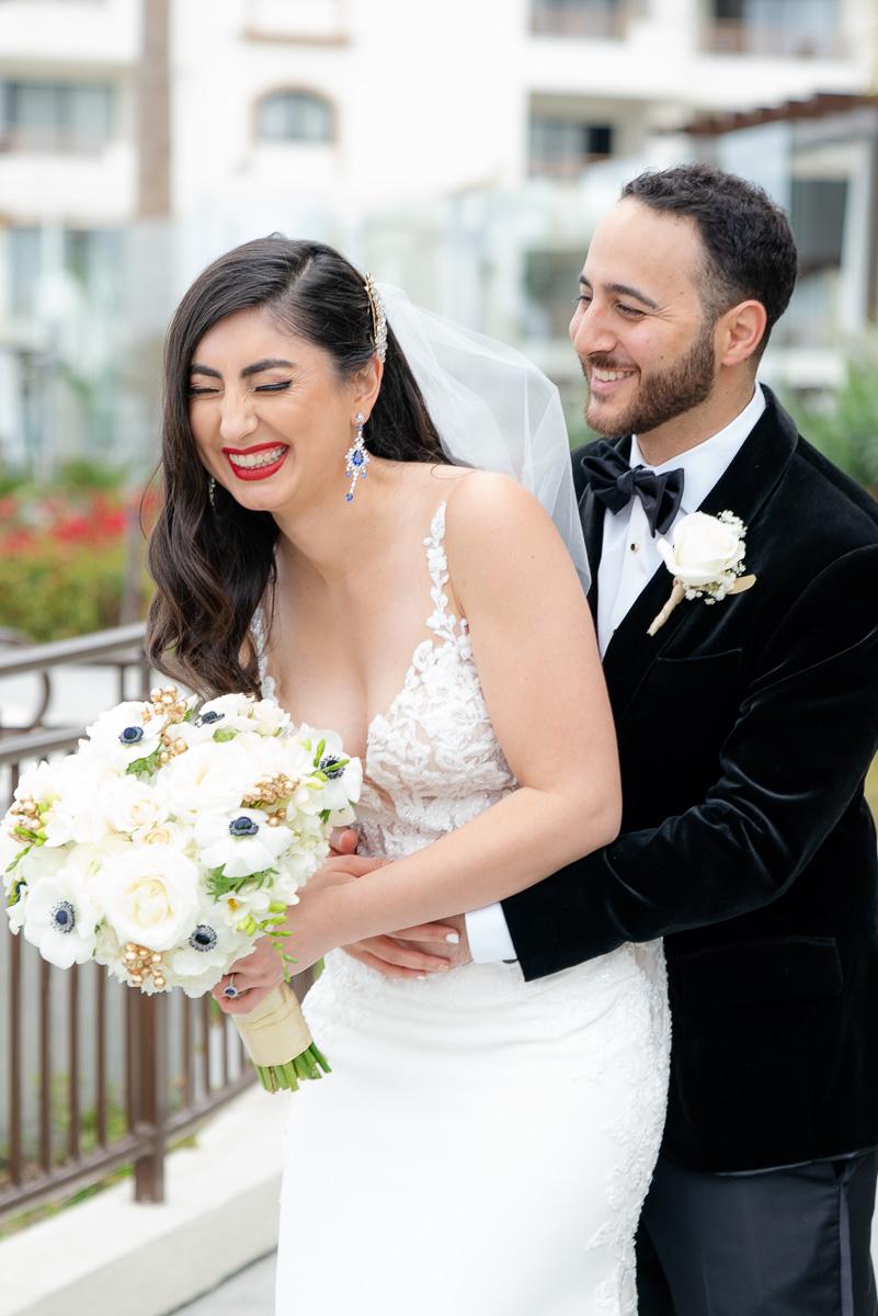persian wedding portrait