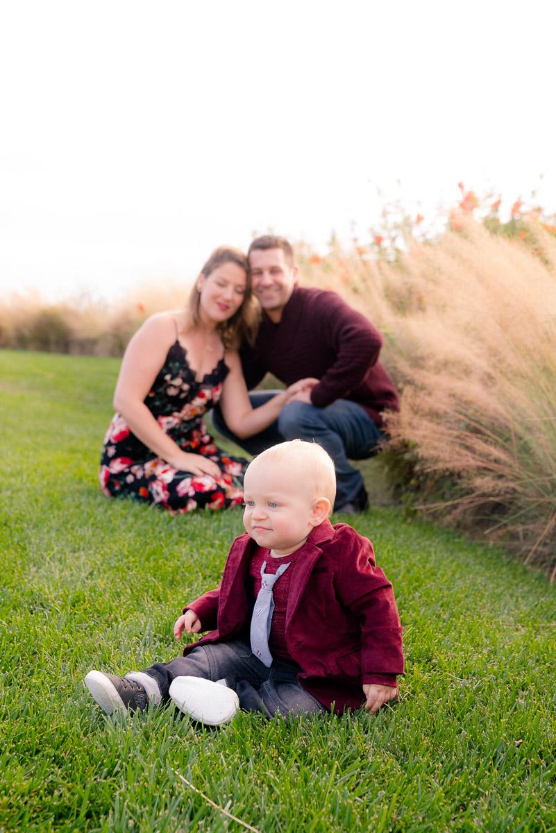 family photos with burgundy