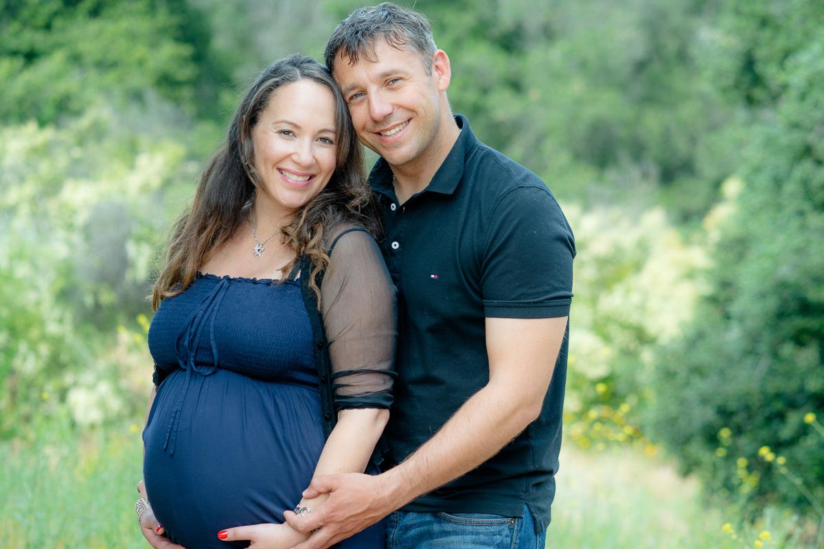 couple maternity photo