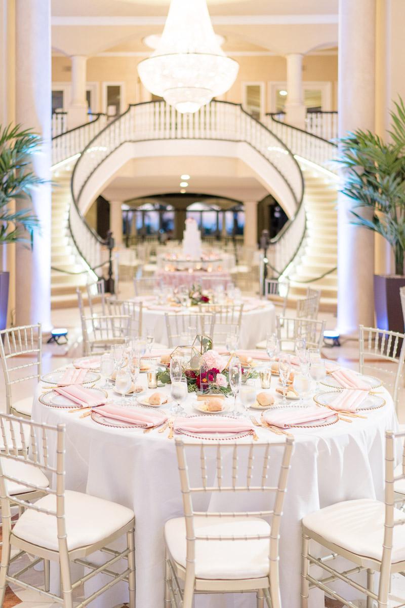 vip mansion wedding stairway