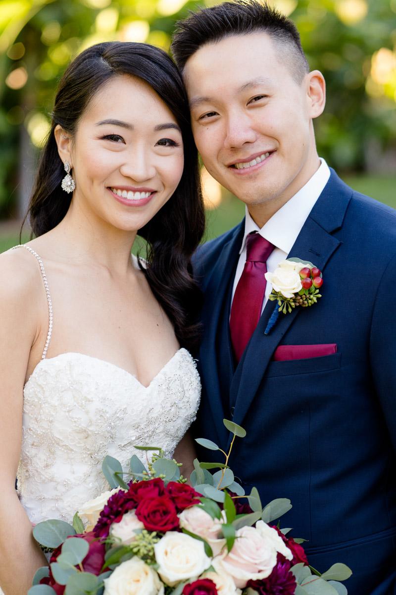 vip mansion wedding portrait