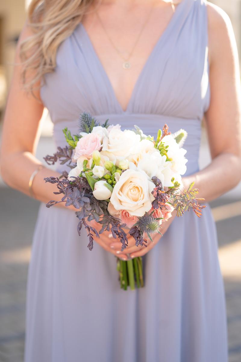 bridesmaid's wedding bouquet
